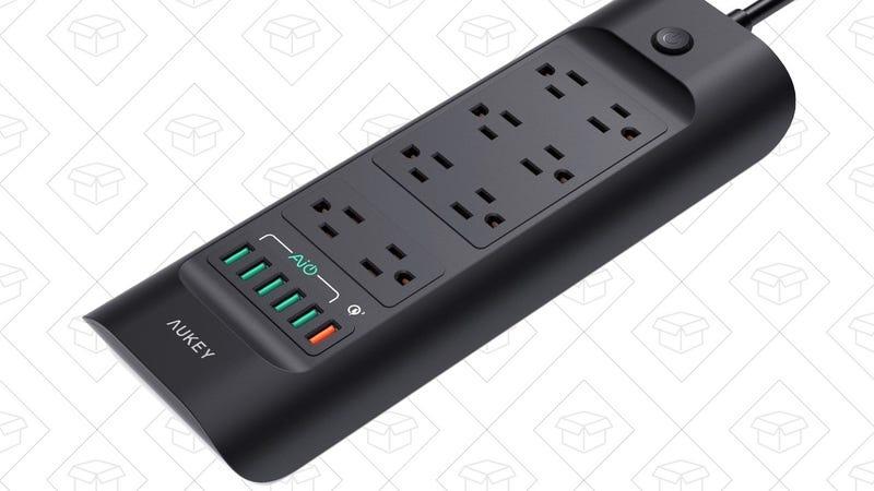 Aukey Power Strip | $29 | Amazon | Promo code AUKEYA13