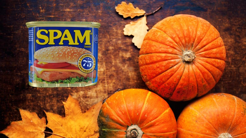 Illustration for article titled It's Pumpkin Spice Spam season, motherfuckers