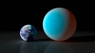 Illustration for article titled Astronomers Say Super-Earths Are Actually Mini-Neptunes