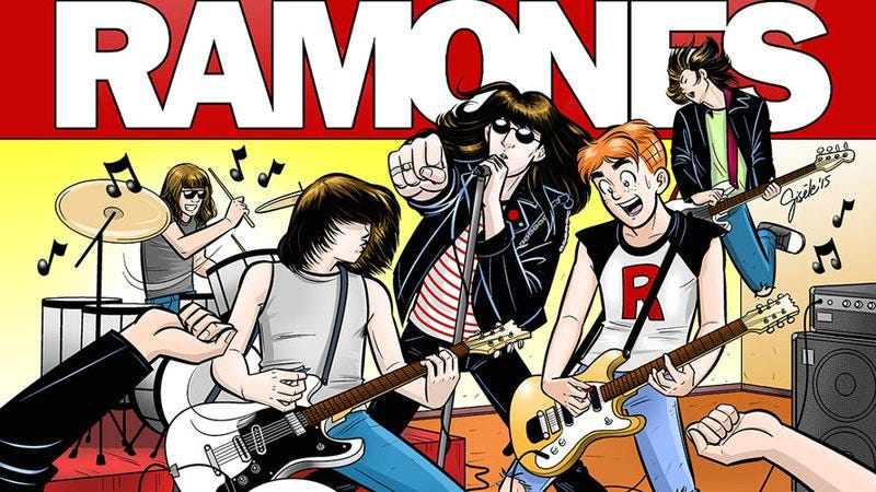 Illustration for article titled The Ramones are starring in an Archie comic