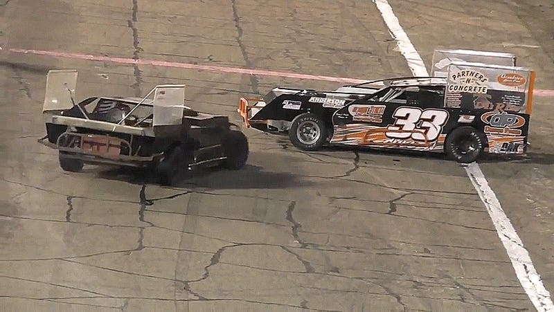 Race vehicle driver tased after road rage incident at IN speedway