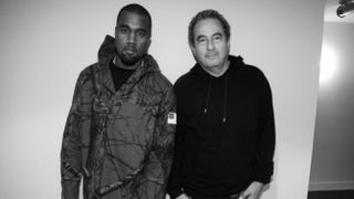 Kanye West and Jean TouitouTwitter