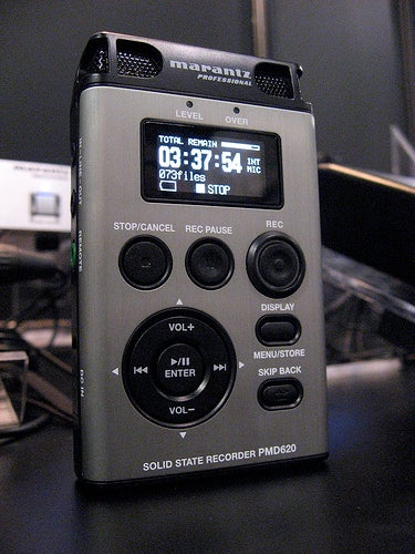Illustration for article titled Marantz PMD620 Professional Handheld Field Recorder Might Sound as Good as It Looks