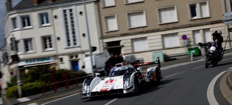 Illustration for article titled The Audi R18 e-tron On Public Roads Is A Future We Can Embrace