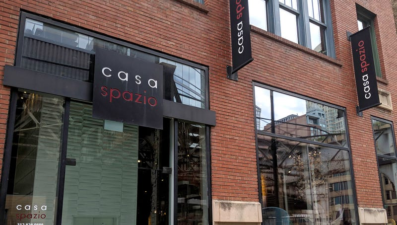 Illustration for article titled Unclear If Store Called 'Casa Spazio' Sells Leather Sofas Or Pizzas