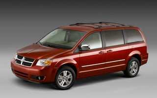 Illustration for article titled NYT Automobiles Gives Chrysler Minivans A Seemingly Unnecessary Smack-Down