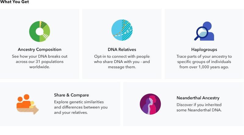 23andMe Ancestry Genetic Testing Kit, $79