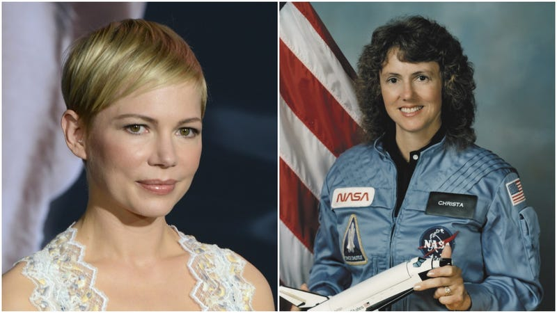 Illustration for article titled Michelle Williams to break our hearts as The Challenger's Christa McAuliffe