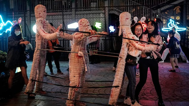 This Is How Wuhan, China, Is Celebrating Halloween