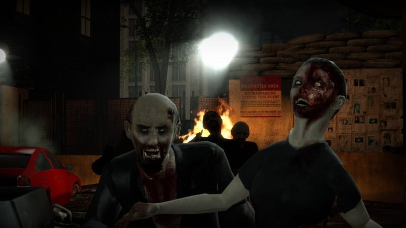 Illustration for article titled Zombie Game Creator Defends Allowing Players To Kill Undead Children