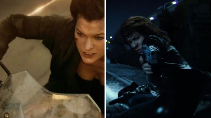 Illustration for article titled Here's how to tell the new Underworld and Resident Evil trailers apart