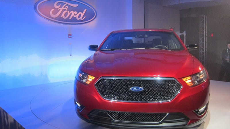 2013 Ford Taurus A Turbocharged Four Banger And A Sho Y New Grille