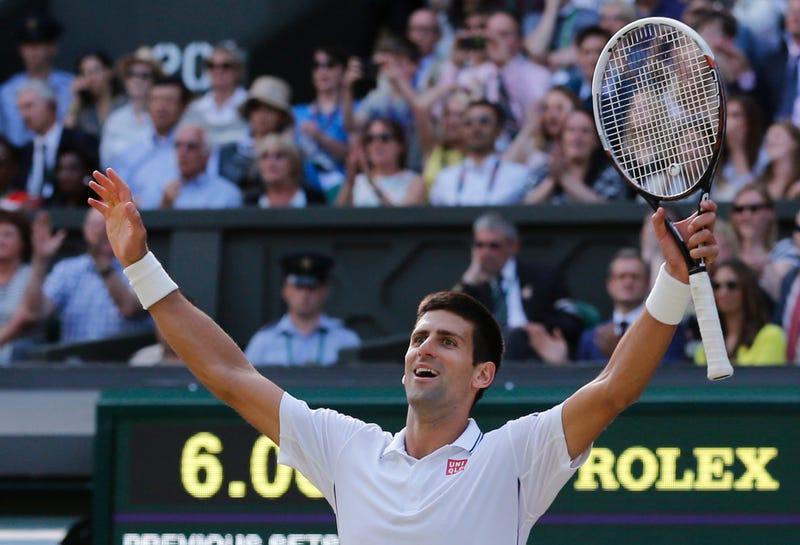 Illustration for article titled Novak Djokovic Holds Off Roger Federer For His Second Wimbledon Title