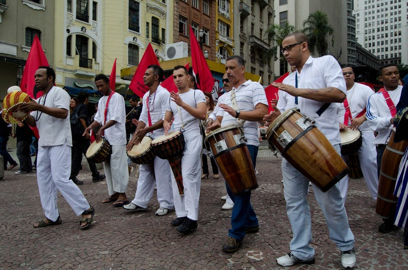 An Afro-Brazilian procession to celebrate the month of black consciousness in Sao PauloCaio buni/News Free/Getty Images