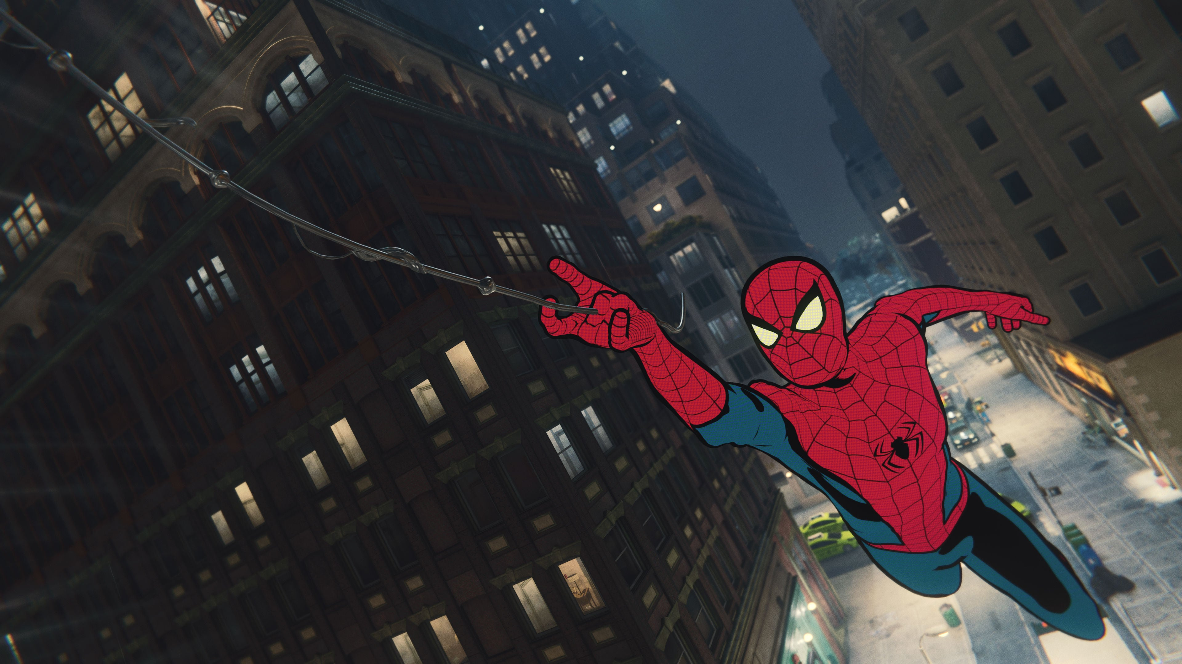 Spider Man PS4 Comic Suit Is Our Favorite Part of the Game