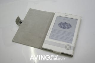 Illustration for article titled Nuutbook 6-Inch Portable e-Book Has Great Looks, Even Greater Name