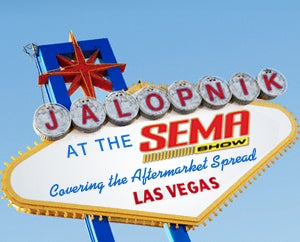 Illustration for article titled Jalopnik at SEMA: Which Way to the Buffet?