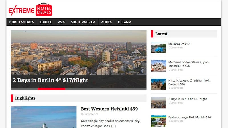 Extreme Hotel Deals Gets You Great Rooms at Deep Discounts