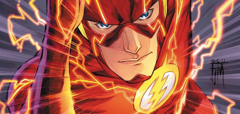 The Flash. Image: DC Comics