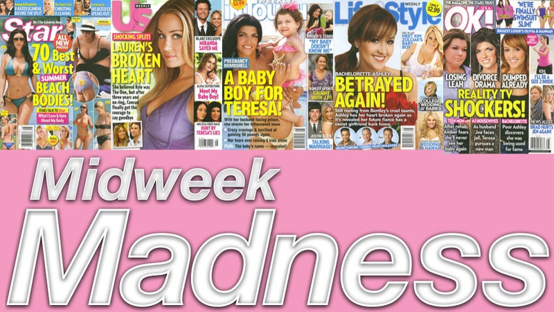 Illustration for article titled This Week In Tabloids: Pregnancy Rumors For Jen Aniston & Lady Gaga