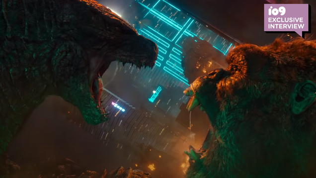 Godzilla vs Kong s Director on Inheriting the Legacy of 2 Titans