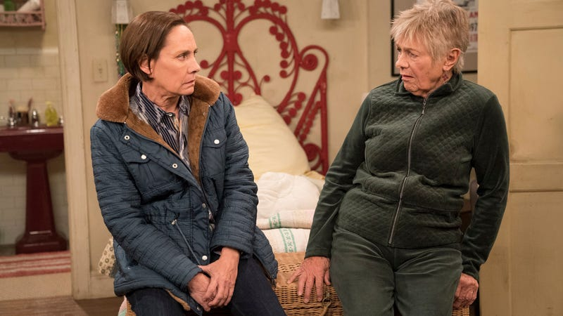 Laurie Metcalf and Estelle Parsons