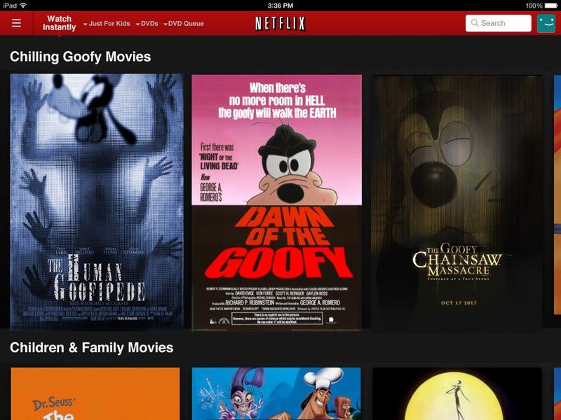 Illustration for article titled Netflix-style Movie Genre Generator