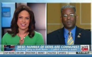 Soledad O'Brien and Allen West (CNN)