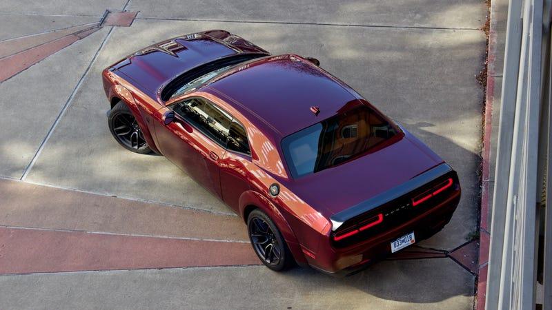 The 797-HP 2019 Dodge Challenger SRT Hellcat Redeye Proves Power