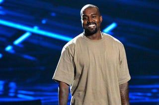 Vanguard Award winner Kanye West speaks onstage during the 2015 MTV Video Music Awards at Microsoft Theater Aug. 30, 2015, in Los Angeles.Kevork Djansezian/Getty Images