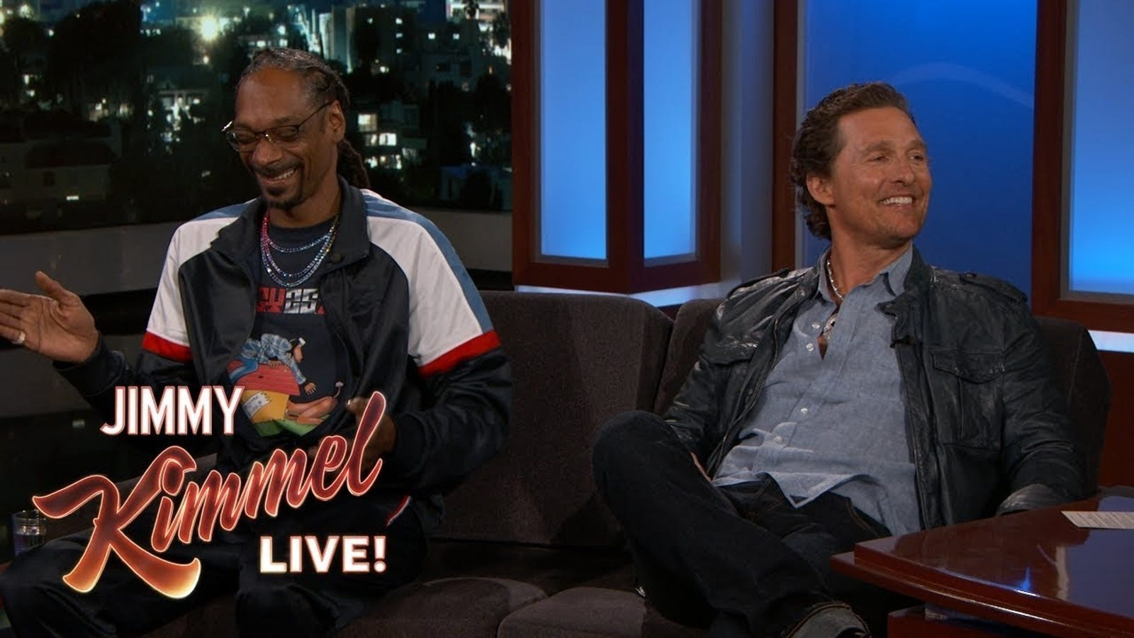 Snoop Dogg Tricked Matthew Mcconaughey Into Smoking A Lot