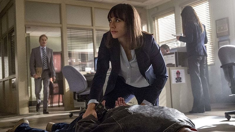 Illustration for article titled Angie Tribeca is taken off the case but pushed into a scandal