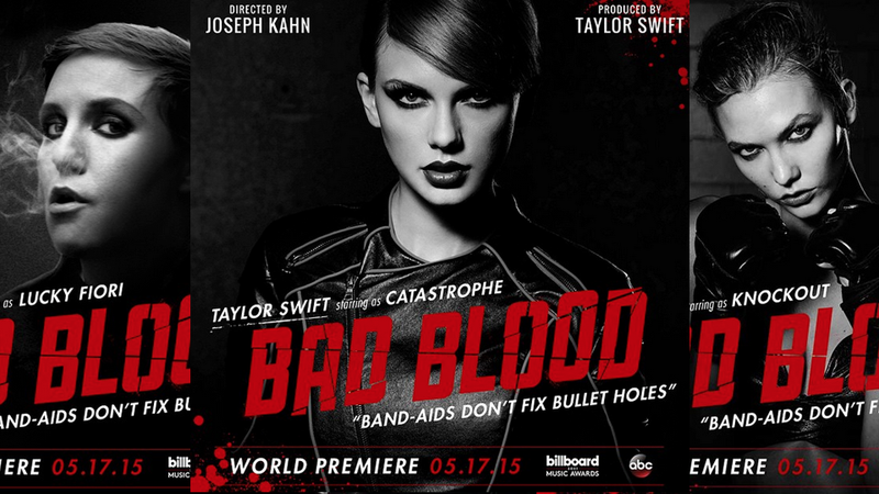 Illustration for article titled Who Isn't in Taylor Swift's 'Bad Blood' Video?