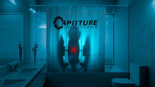 Portals Aperture Science Got Its Start In 1953 Producing Shower Curtains For The US Army So Poignant That 2011 Company Goes Back To Roots