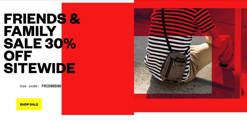 30% off Full Price Items | Timbuk2 | Promo code FRIENDS30
