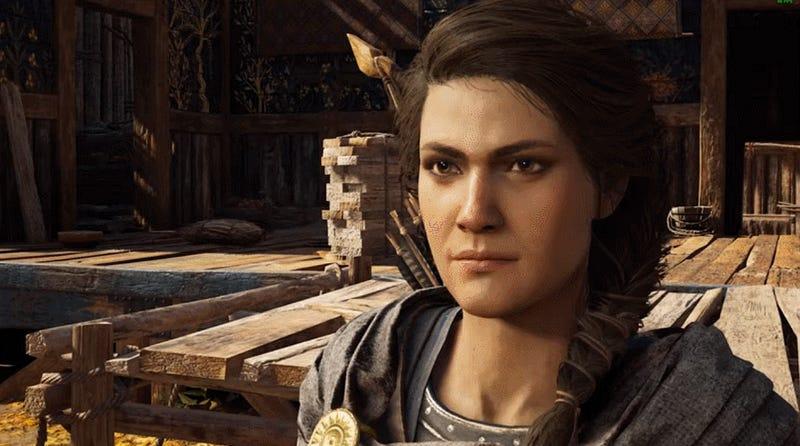 Finally, A Supercut Of Assassin's Creed Odyssey's Favorite Cuss