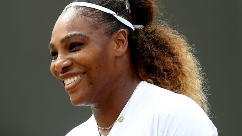 Serena Williams during Day Nine of The Championships - Wimbledon 2019 on July 10, 2019 in London, England.