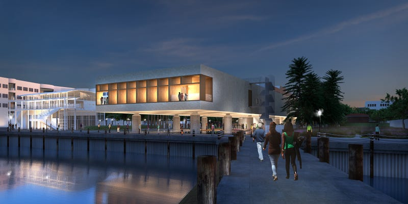 Renderings of International African American Museum (Courtesy of IAAM)