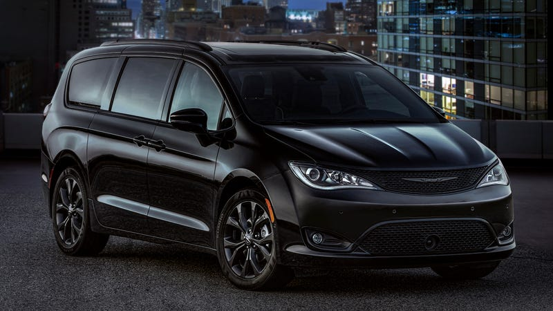 Chrysler Pacifica S Appearance package makes it look sportier
