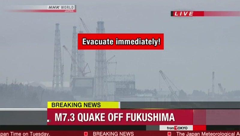 Strong quake hits northeastern Japan, Tsunami warning issued