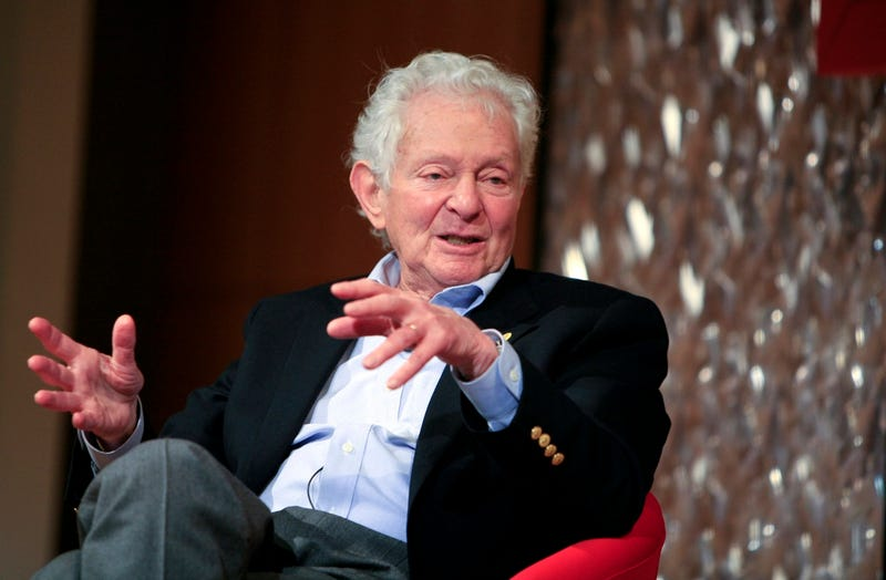Leon Lederman speaks at the panel discussion 'Pioneers in Science' at the World Science Festival held at The Graduate Center, Proshansky Auditorium, CUNY on May 29, 2008 in New York