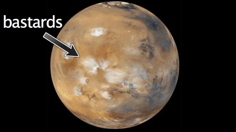 Illustration for article titled We must destroy Mars before it destroys us!