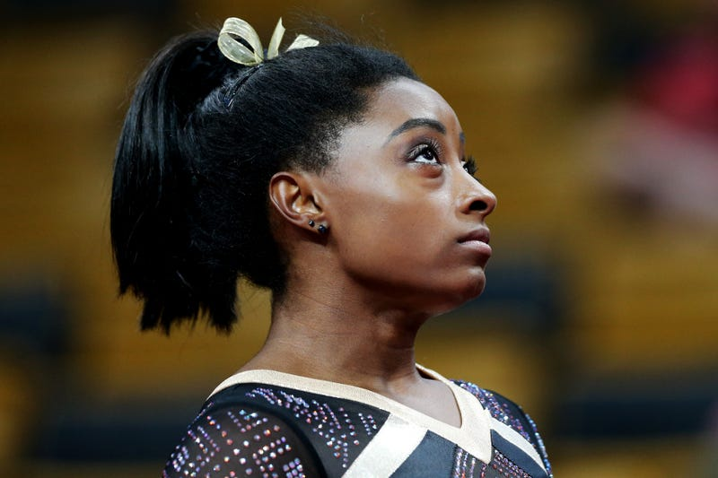 Illustration for article titled Simone Biles Has All The Power, And She Knows It