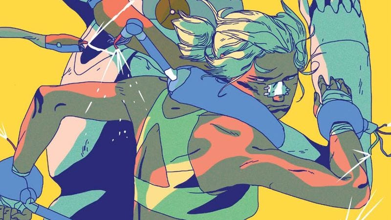 Illustration for article titled This Vault Comics exclusive spotlights queer vikings and a robotic prison