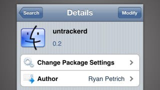 Illustration for article titled Untrackerd Destroys Your iPhone's Tracking Data