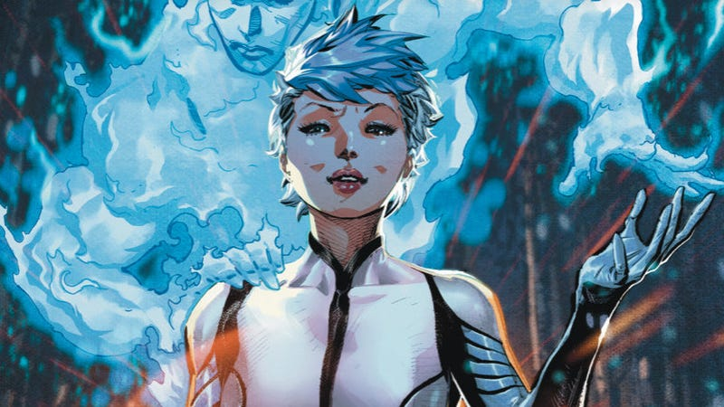 The cover of Doctor Mirage #1.