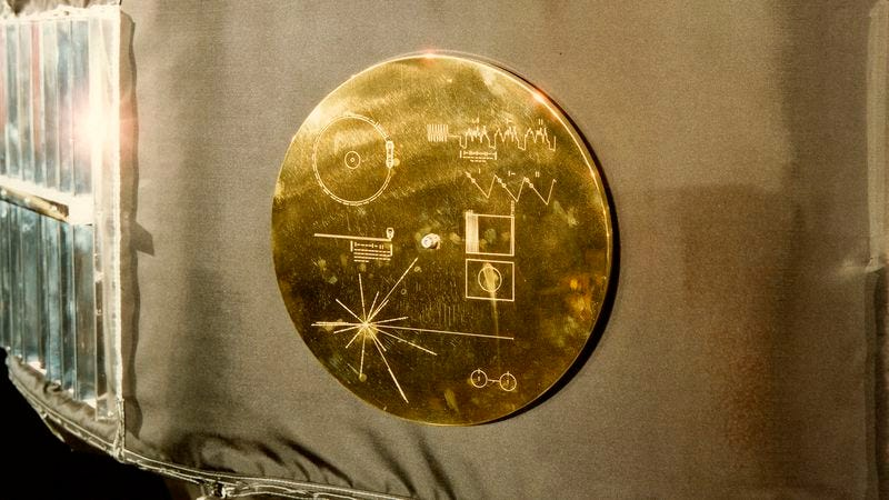 Illustration for article titled Contents Of The Voyager Golden Record