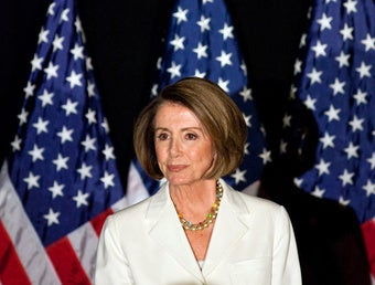 Illustration for article titled Nancy Pelosi Trying to Keep Order in the House