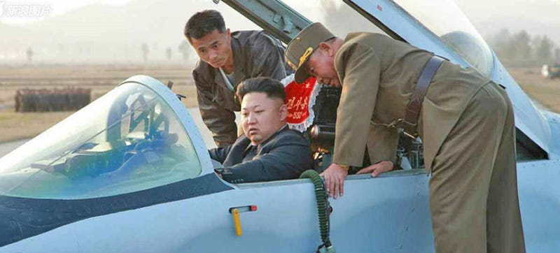 N  Korea's Dear Leader Gives MiG-29 Pilots Guidance On How To Fight