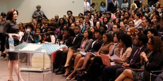 Sheryl Sandberg at Howard University (LeanIn.org)